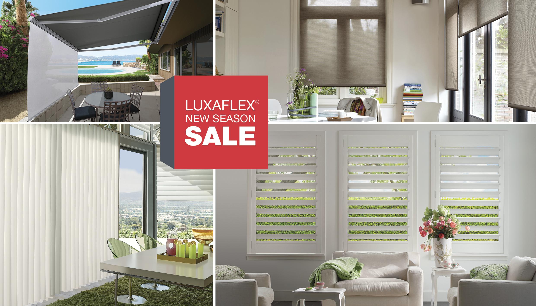 Luxaflex New Season Sale