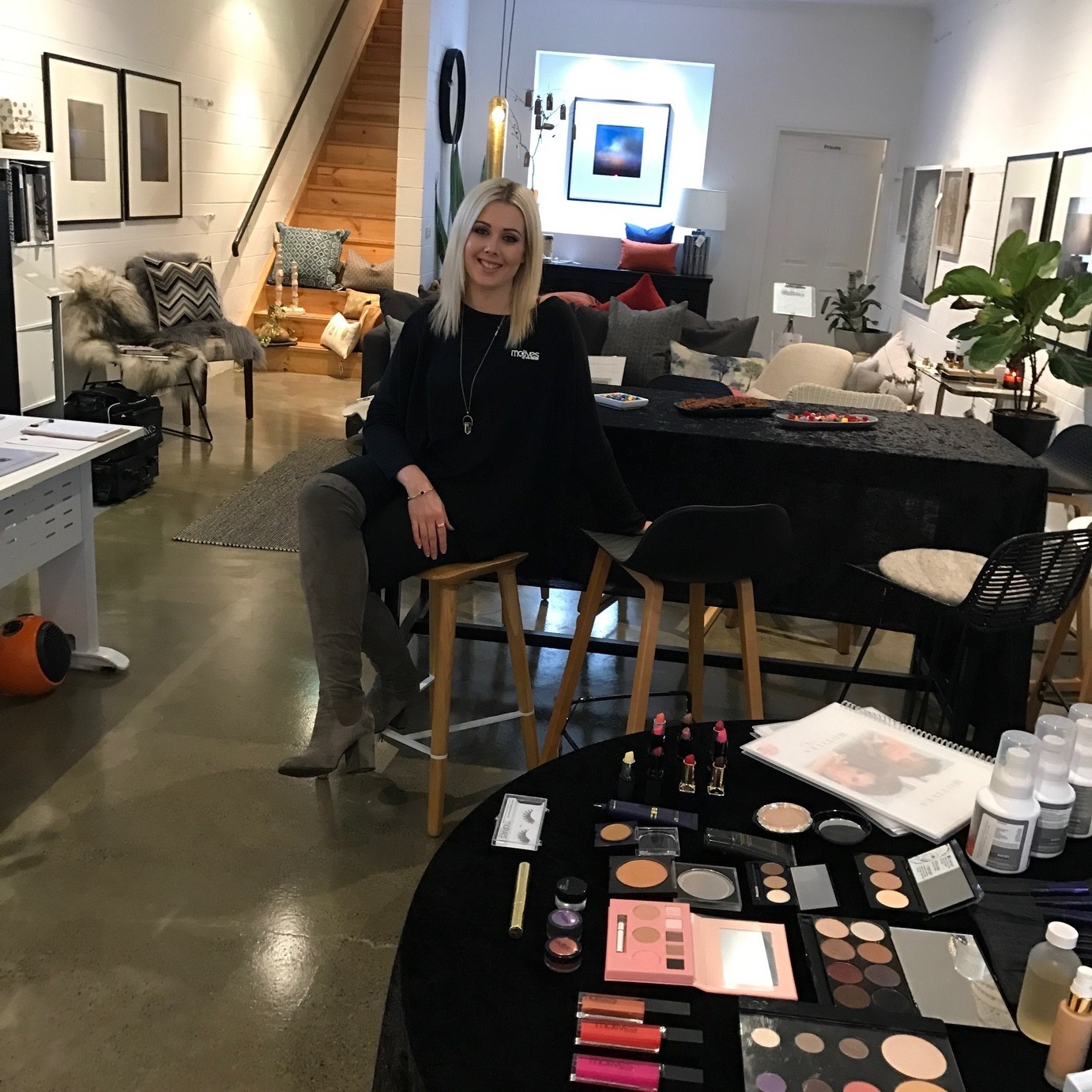 Makeup Event Interiors By Riveresque