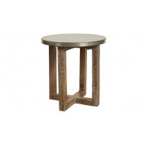 Argo Zinc Side Table