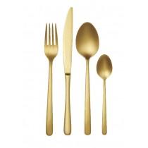 Amalfi 16pce Cutlery Set Gold